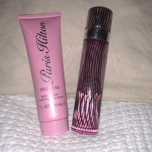 Other - Paris Hilton Fragrance and  Lotion